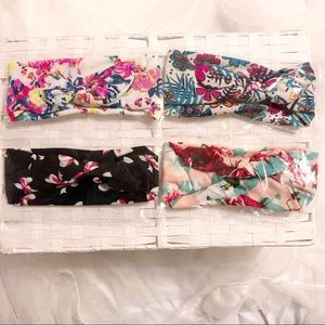 Other - NWOT- Brand new set of 4 Baby Headbands